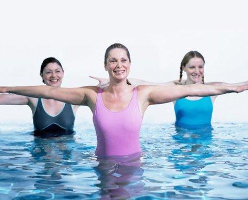 Аквааэробика - необычный вид спорта или забава?