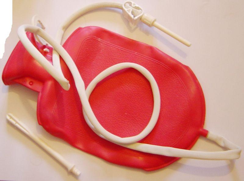 клизма очистительная-разгружаем кишечник