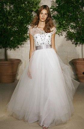 свадебная мода 2010